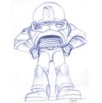 Buzz Lightyear Sketch