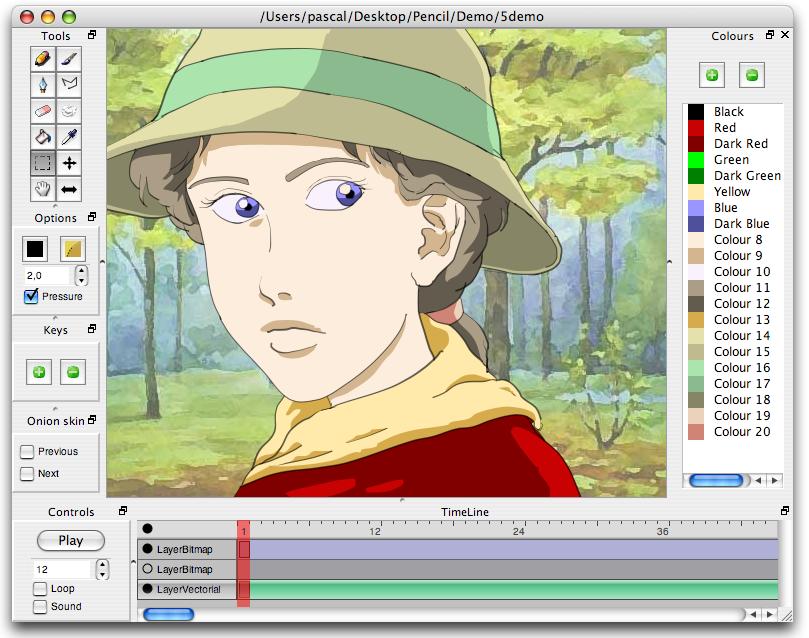 Pencil 2D animation software - BlenderNation