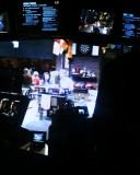 Inside Sony\'s booth