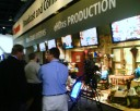 Inside Canon\'s booth