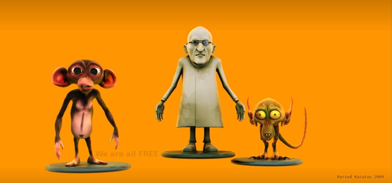 Free 3d Character Models - BlenderNation