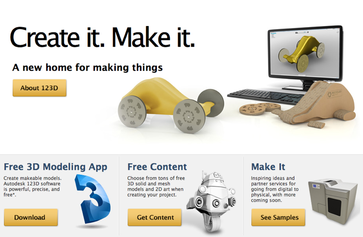 Autodesk 123D beta - Free Solid modeling for Builders