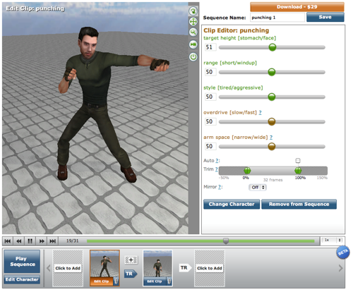 Motion capture data BVH tools and files - BlenderNation