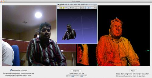 3D Scanner software using Kinect for OS X - BlenderNation