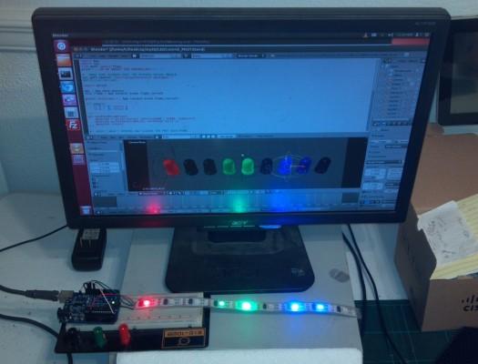 Blender / Arduino LED Control - BlenderNation