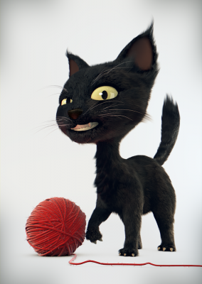 Model Download: Cat - BlenderNation