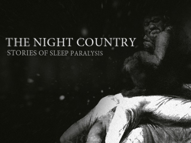 horror] The Night Country: Stories of Sleep Paralysis