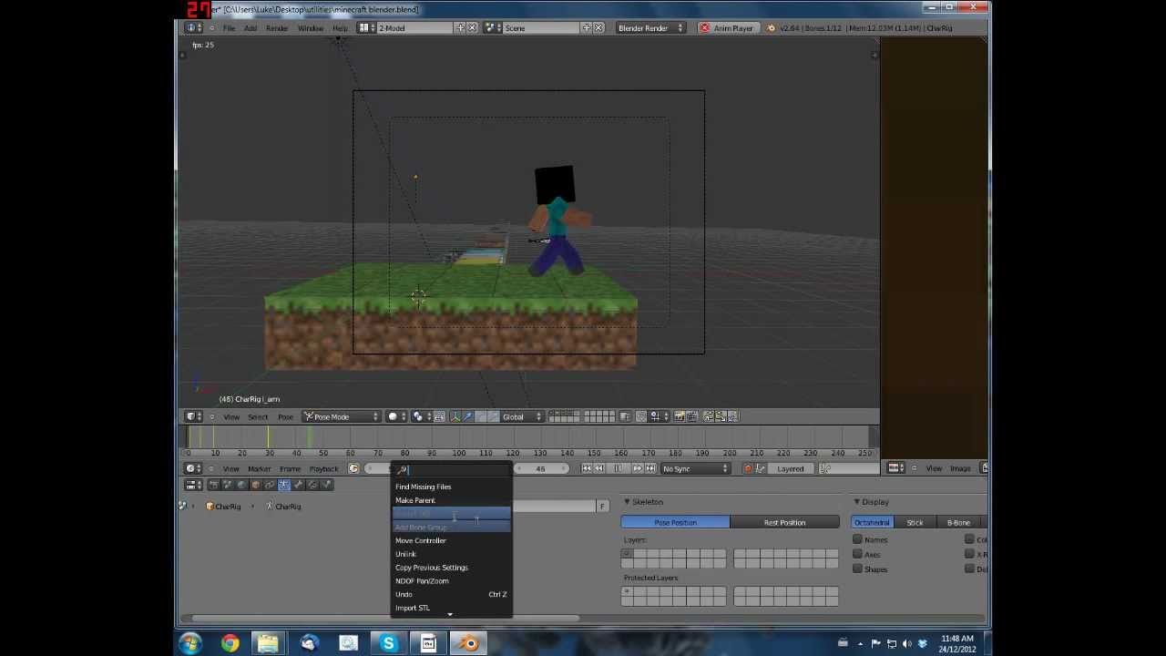 How to create a video in Minecraft 44