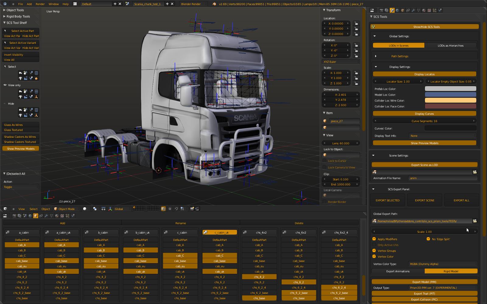 Euro Truck Simulator creates Blender add-on - BlenderNation