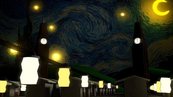 AspiringAnimator - Variation on Starry Night - 11