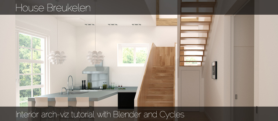 Tutorial: Interior arch-viz with Blender and Cycles