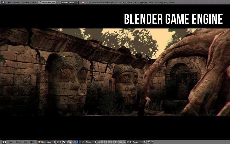 Blender game engine скачать