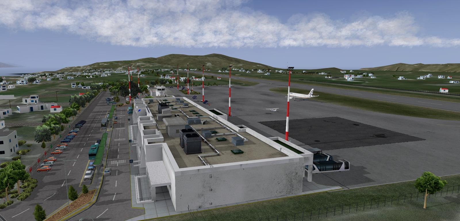 X-Plane - Mykonos Airport made with Blender - BlenderNation