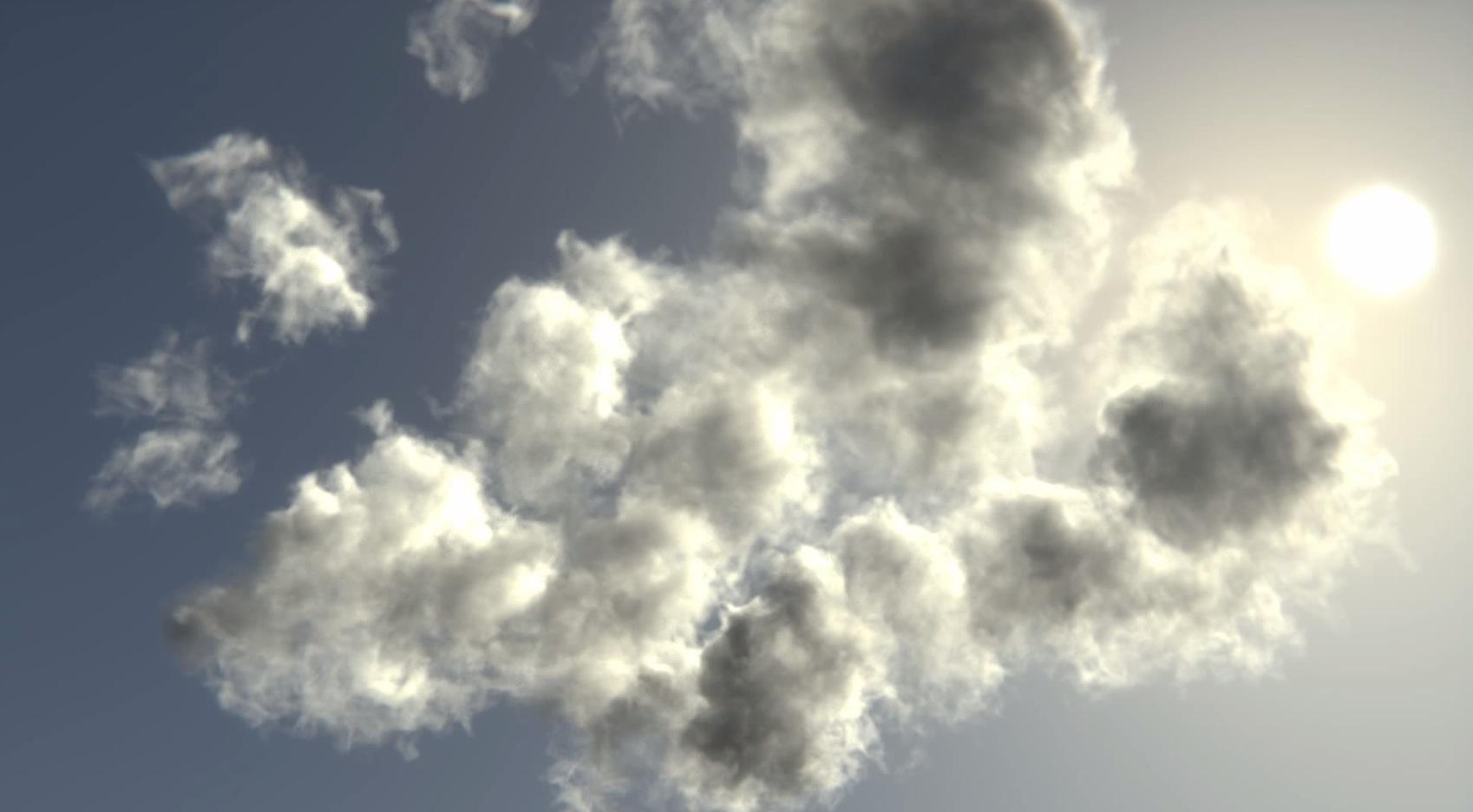 Creating volumetric clouds with smoke sim - BlenderNation