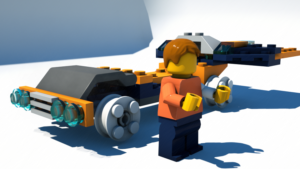 Importing Lego Models into Blender - BlenderNation