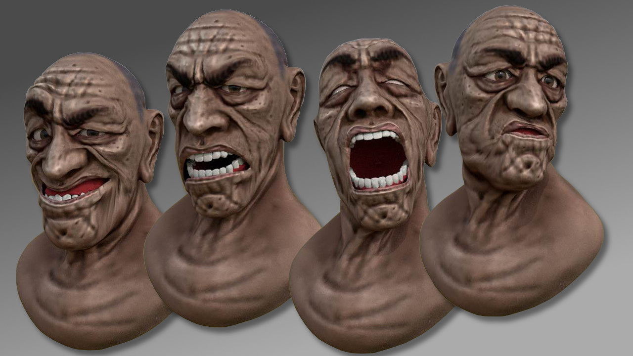 facial animation techniques Software and research in the area of performance driven facial animation.