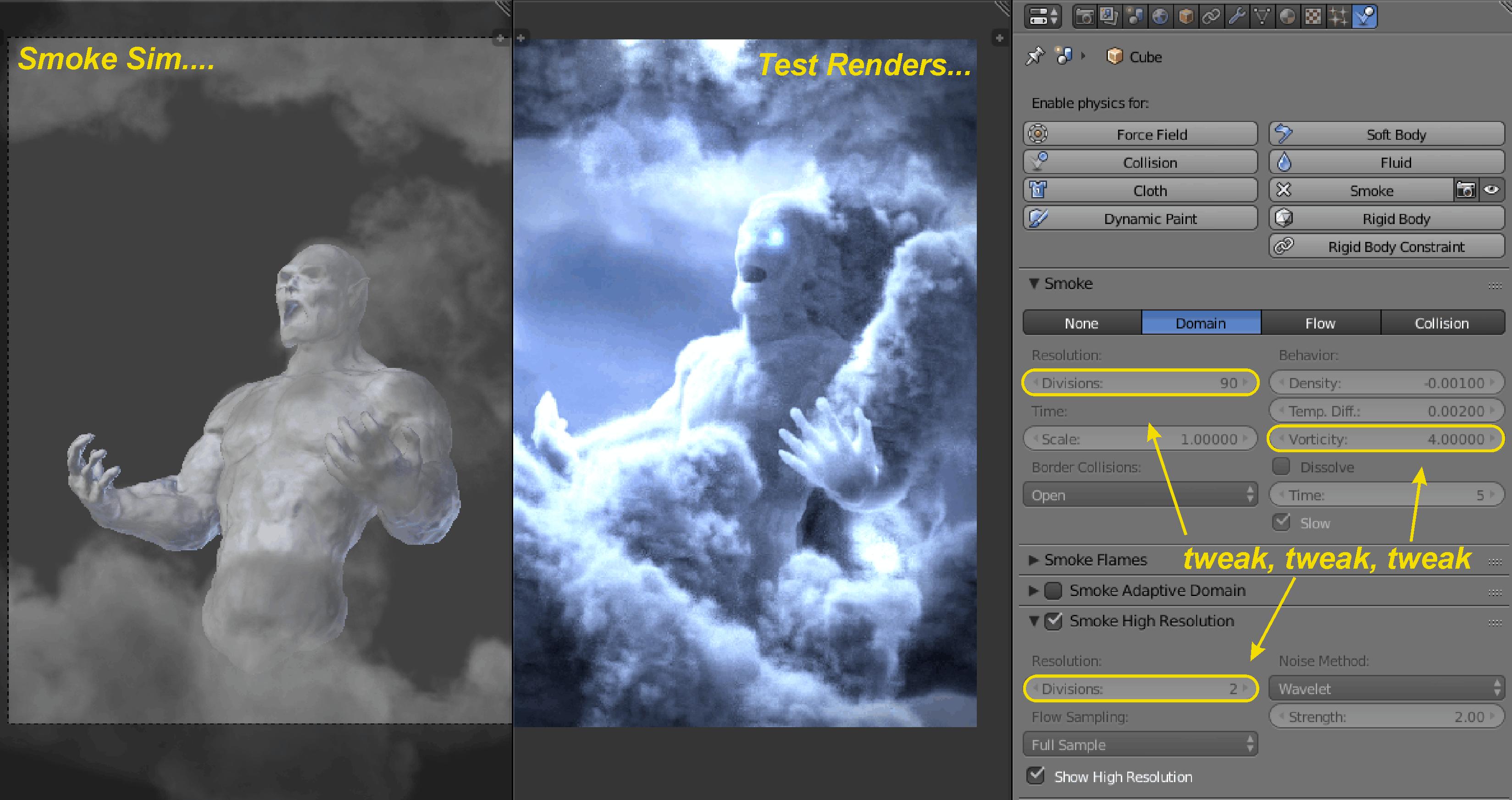 Behind the Scenes: Thunder God - BlenderNation