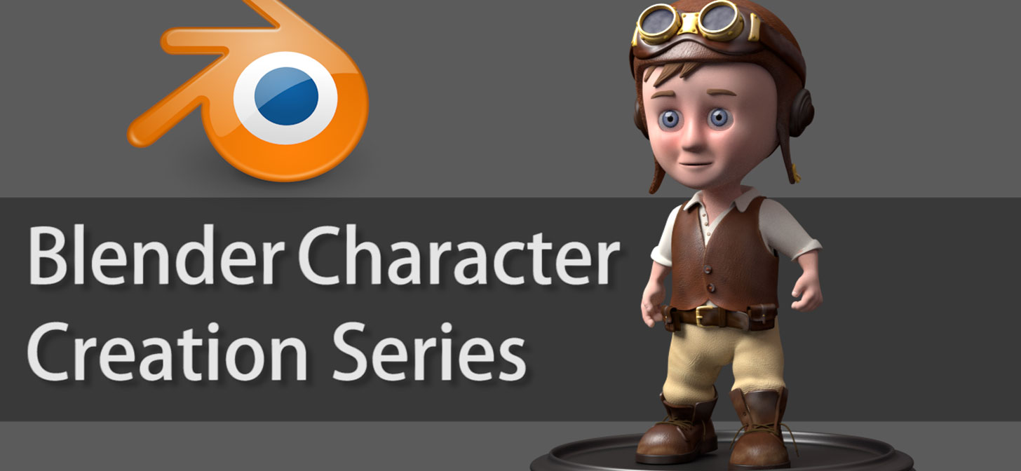 Introduction To Character Modeling In Blender Free Download : Blender character creation series blendernation