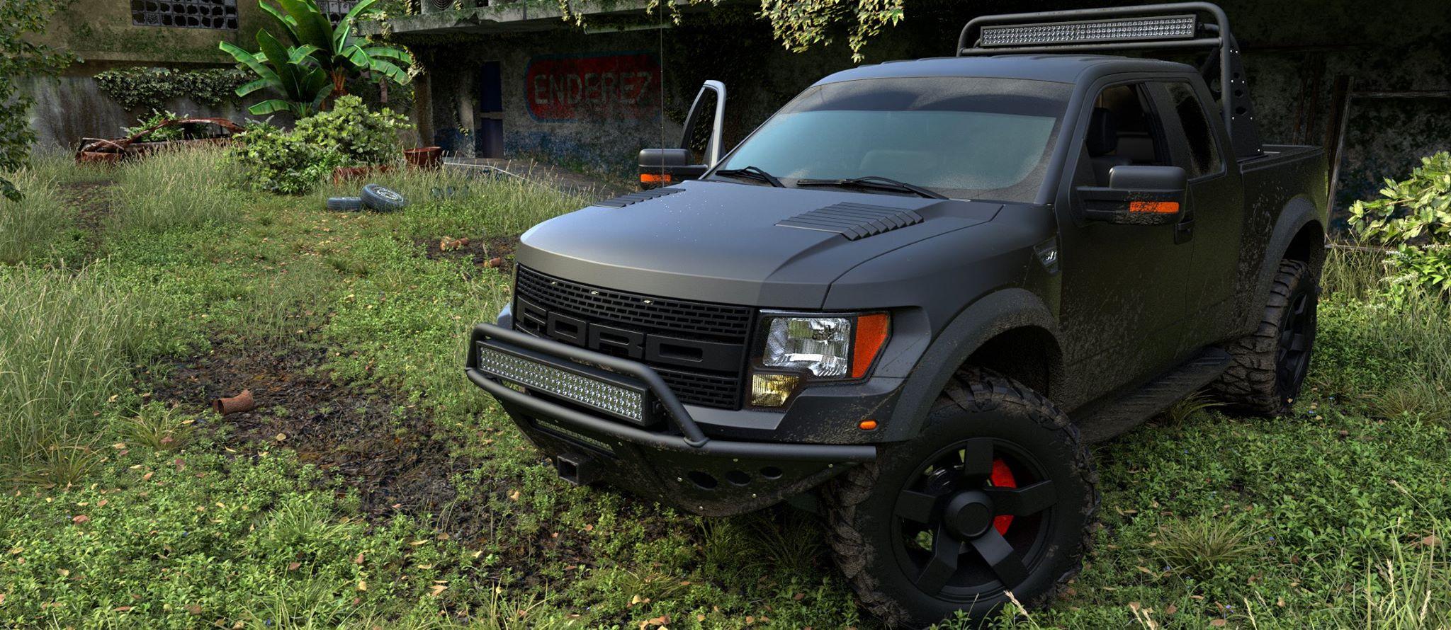 Ford Truck - BlenderNation