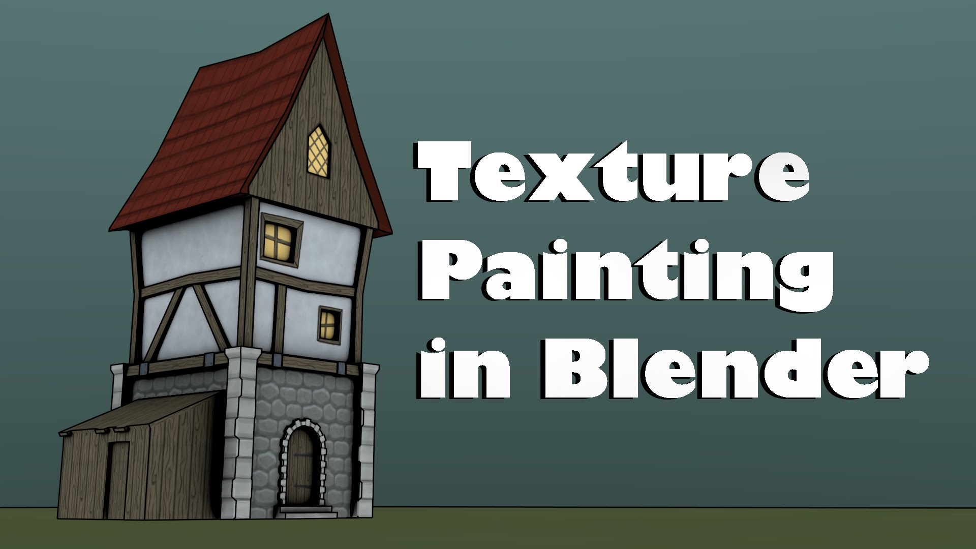 Tutorial Hand Painting Tileable Textures in Blender 274