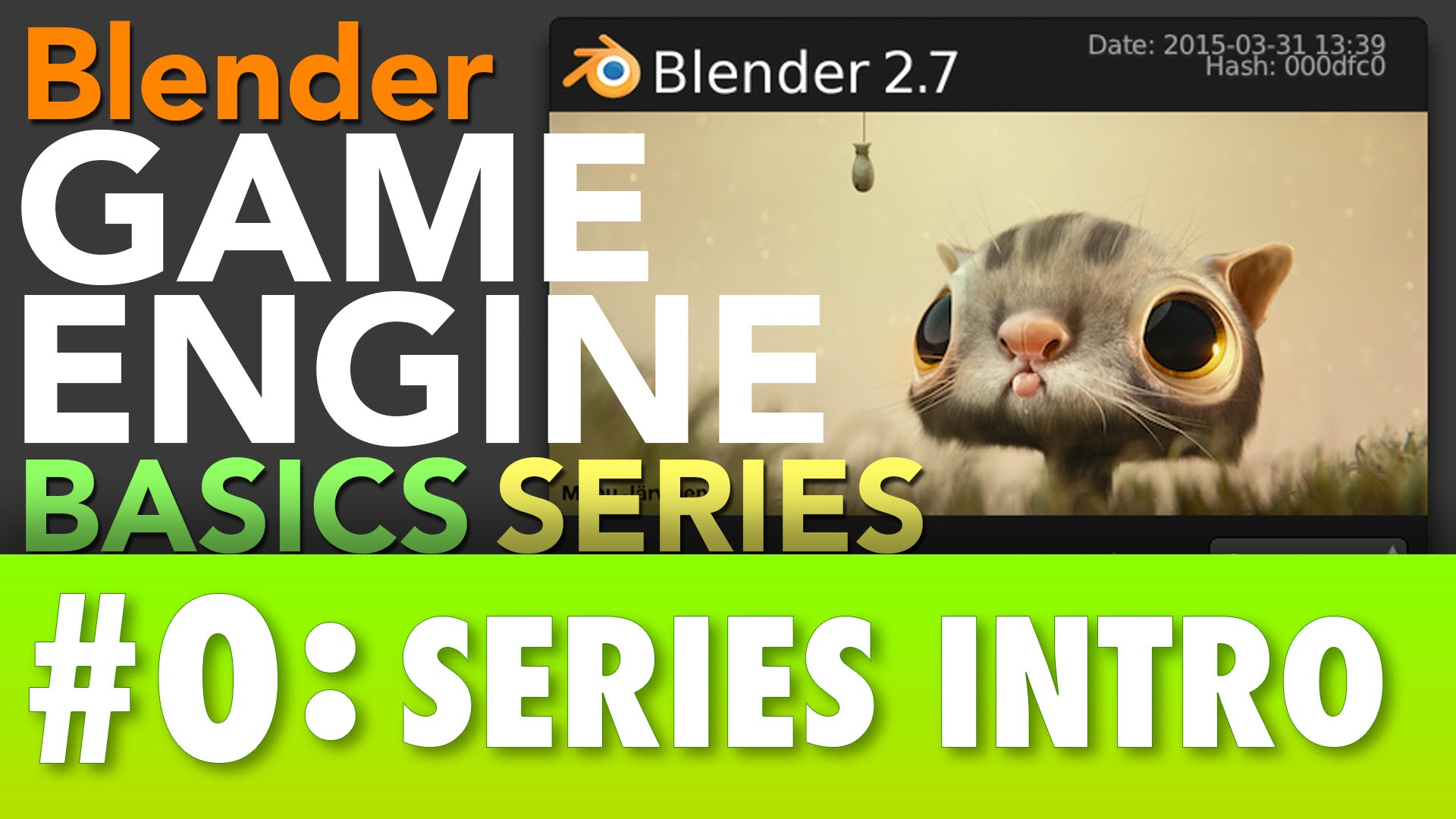 Blender Game Engine Basics Tutorial Series - BlenderNation
