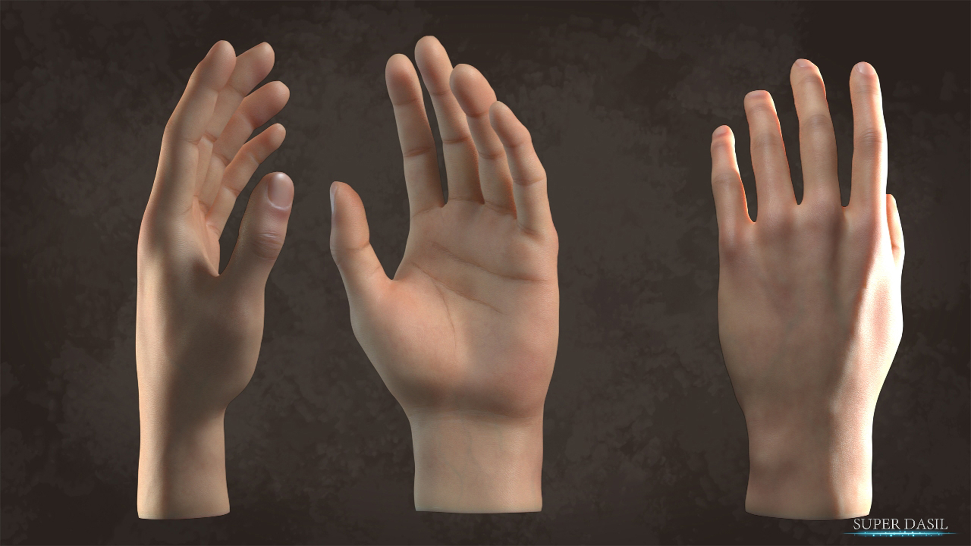 Free 3D Blender model download: Hand - BlenderNation