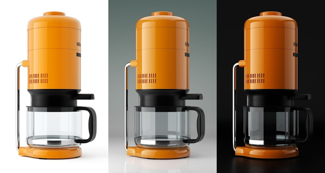 Tutorial: Braun KS 20 Coffee Maker Industrial Design