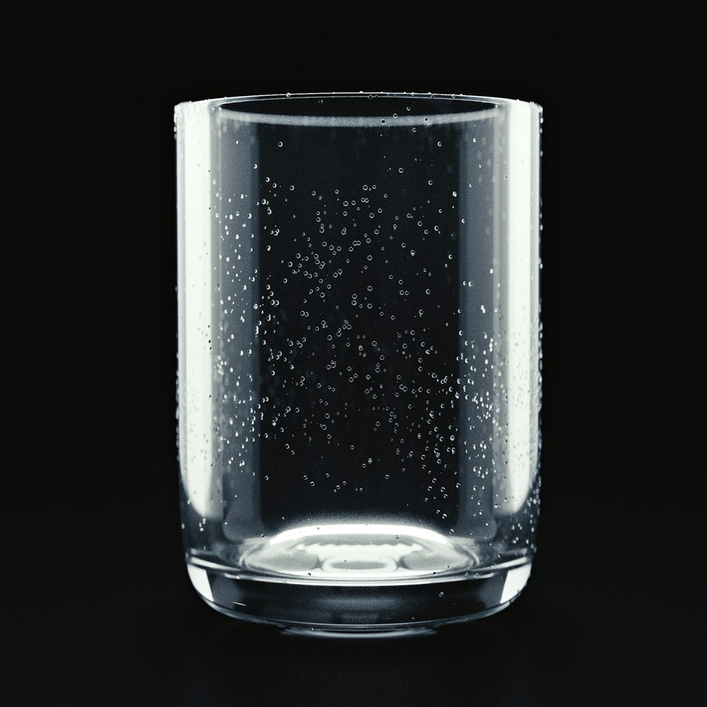 Free 3D Model download: Glass with droplets - BlenderNation