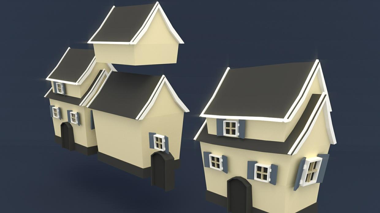 Tutorial creating a low poly house blendernation baditri Choice Image