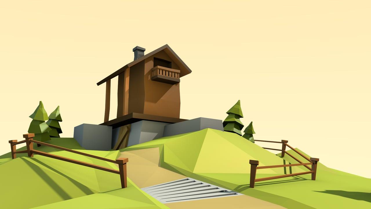 Tutorial a lowpoly scene blendernation tutorial a lowpoly scene baditri Choice Image
