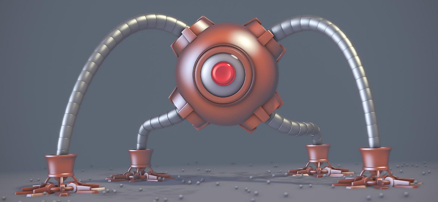 Character Modeling In Blender Pdf : Tutorial robot tentacle in blender blendernation