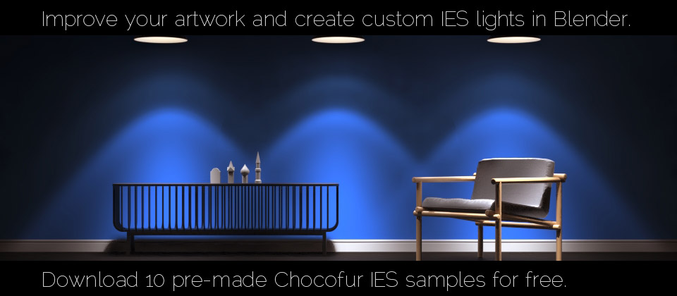 Chocofur IES lights for Cycles - BlenderNation