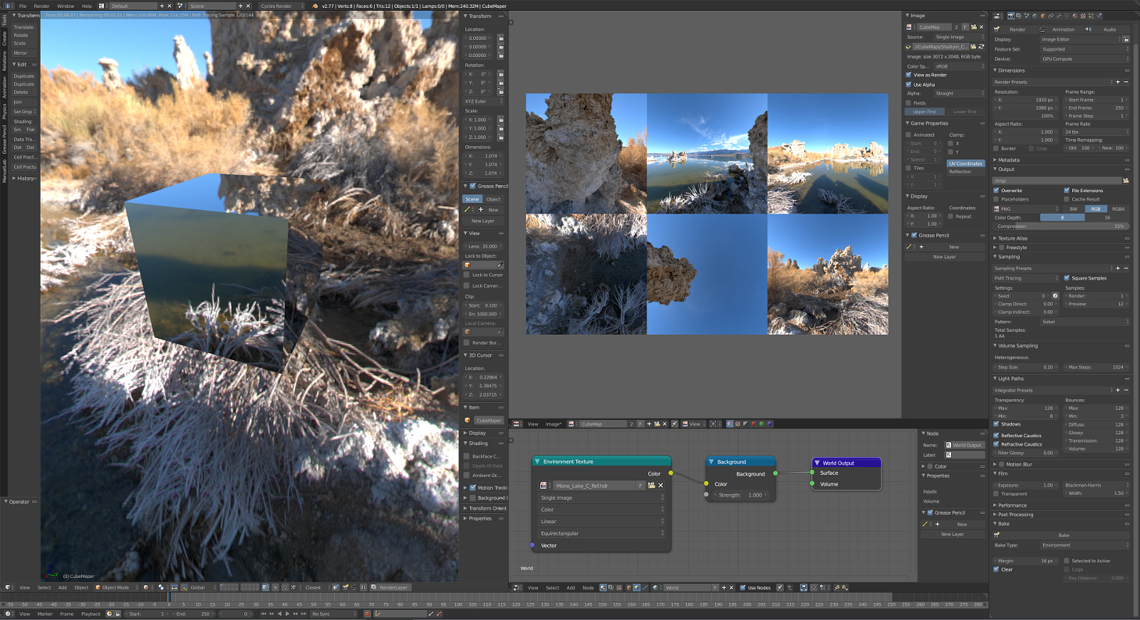 Hdri images to cube maps converter blendernation hdri images to cube maps converter gumiabroncs Gallery