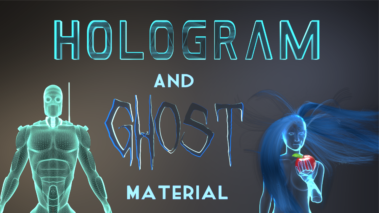 Hologram and Ghost Material