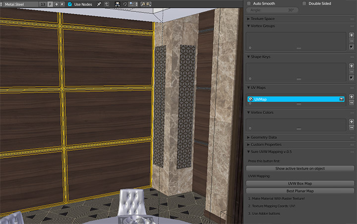 """""""Sure UV Mapping"""" in action"""