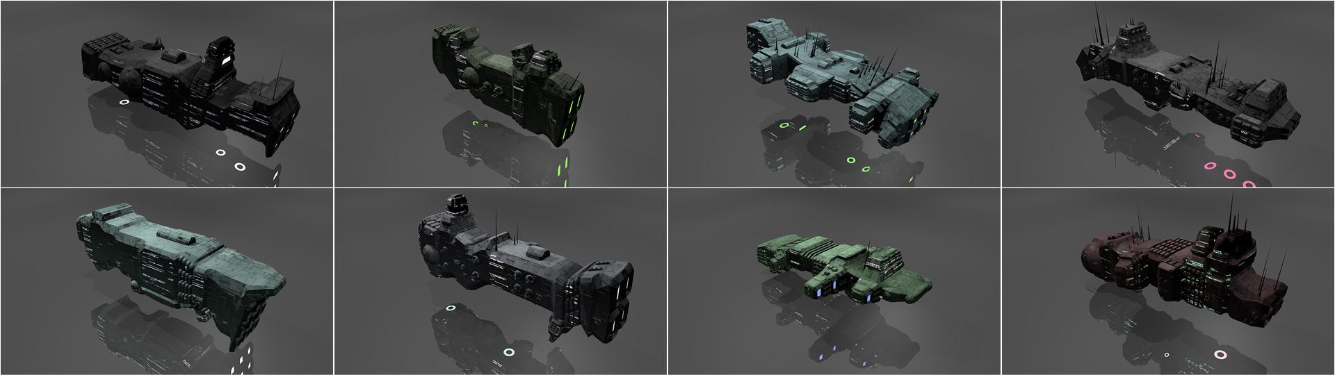 spaceship generator blendernation