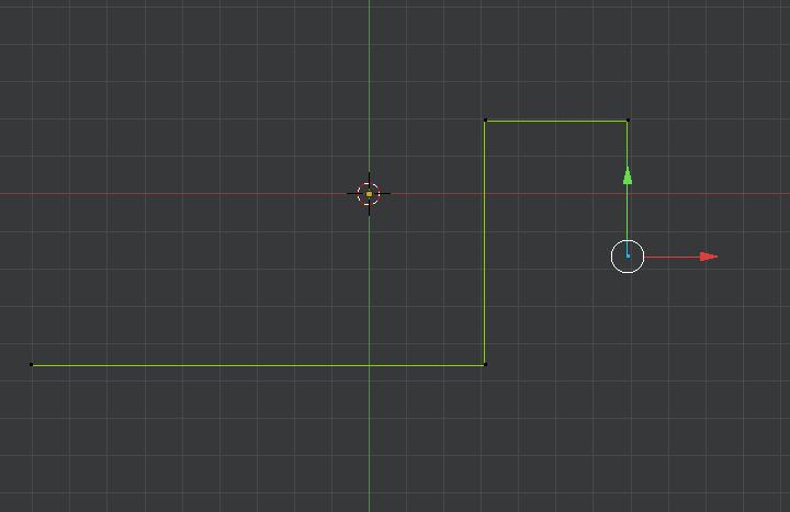 Blender vertex extrusion with precise unit