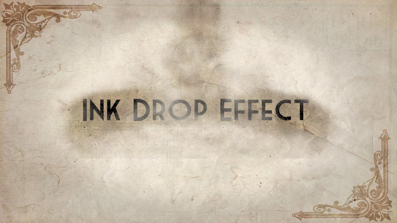 Ink Drop Effect
