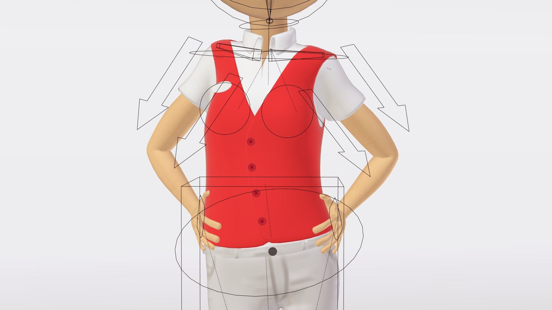 Rigging Technique for Clothing and Accessories