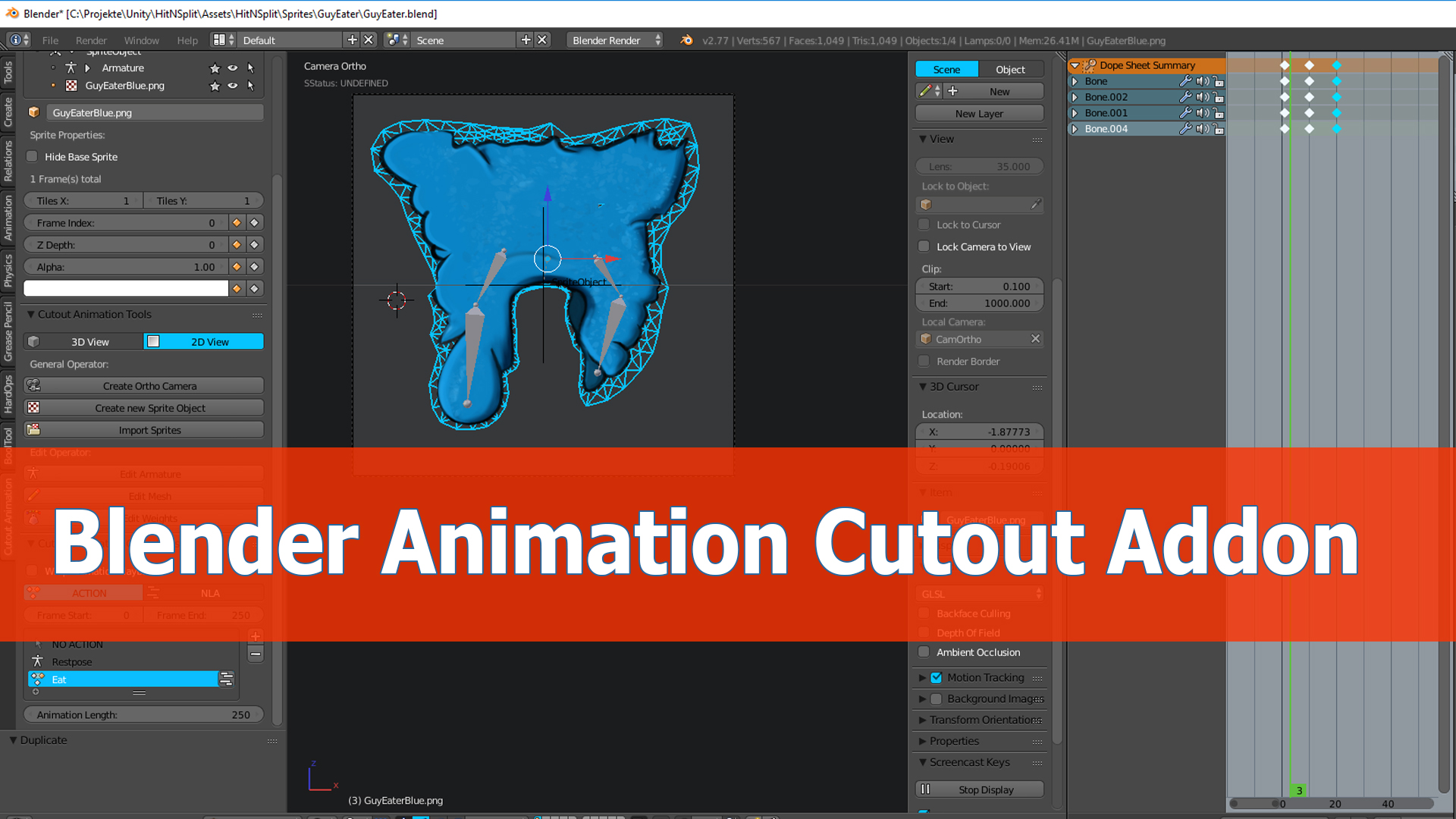 Tutorial cutout animation bard's lesson by pigdev, henrique campos.