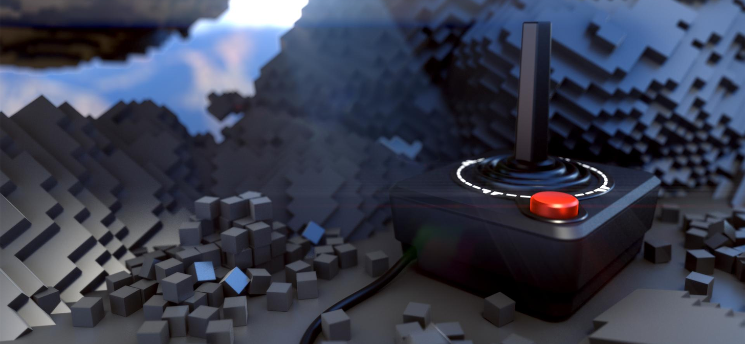 NEVER FORGET - Atari 2600 Joystick