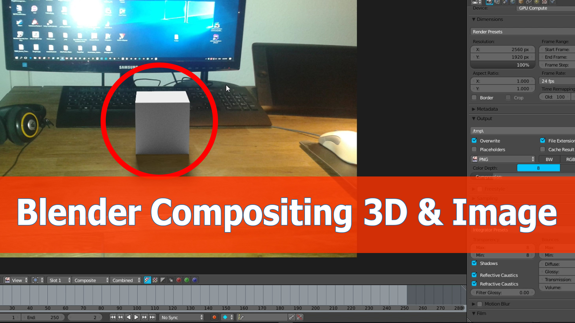 Blender compositor tutorial: Image and 3D objects - BlenderNation