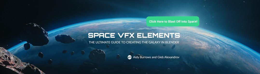 Space VFX Elements 3 - BlenderNation