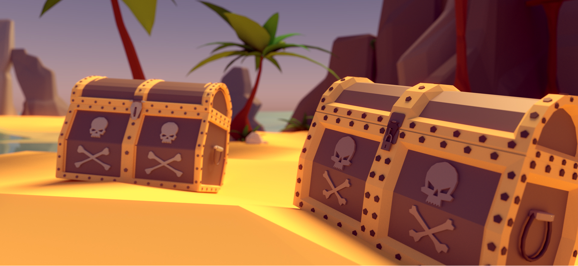 Tutorial the low poly pirate scene blendernation tutorial the low poly pirate scene baditri Choice Image