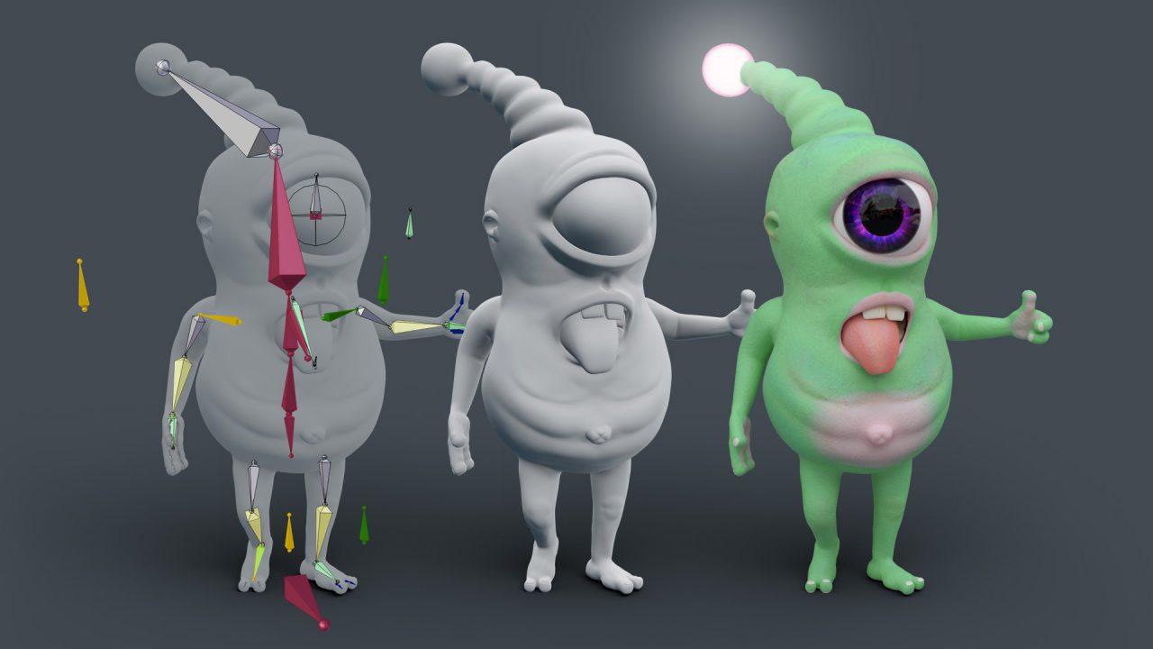 3d Character Design Course : Blender d character design class near munich and