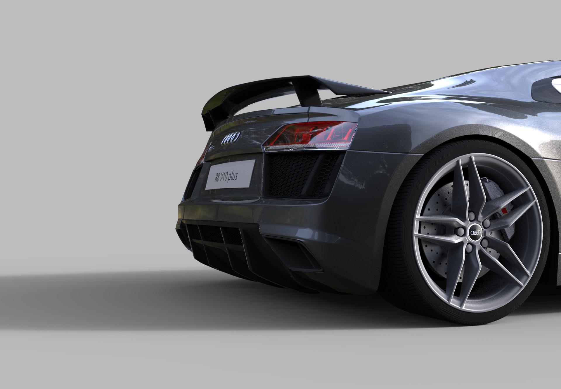 Audi R8 V10 PLUS 2017 - BlenderNation