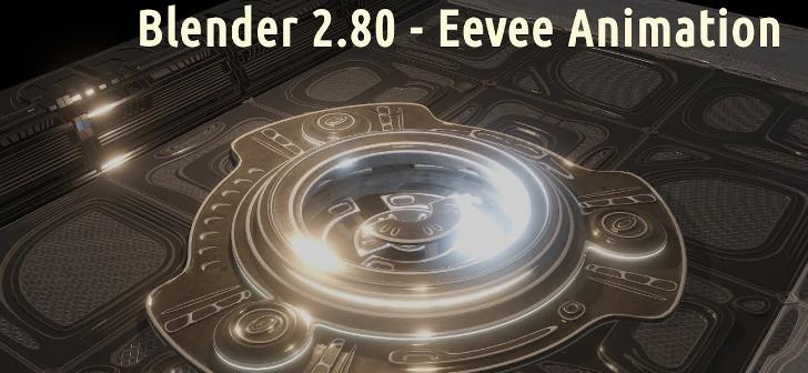 Eevee Animation: SciFi Elevator - BlenderNation