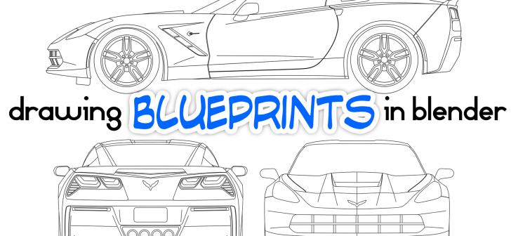 Drawing car blueprints in blender blendernation drawing car blueprints in blender malvernweather Images
