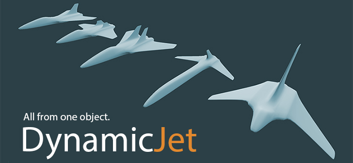 Configurable Dynamic Jet Mesh - BlenderNation