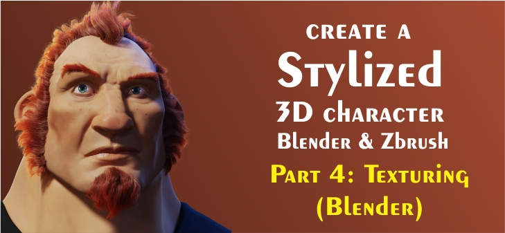 Creating 3D Characters - Part 4 - Skin Texturing (Blender